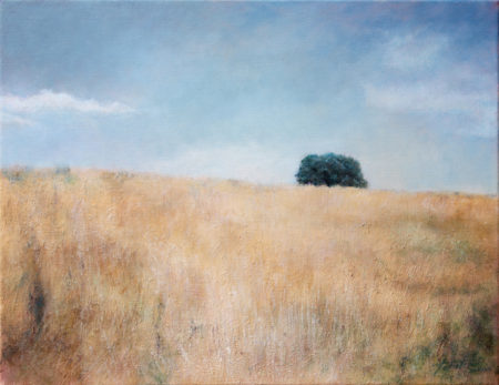 Fine Art - Late Summer  - Original Oil Painting on Canvas by artist Darko Topalski