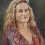 Tamara – Commissioned Portrait Oil painting