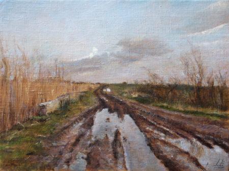 Fine Art - After the Rain - Original Oil Painting on Canvas by artist Darko Topalski