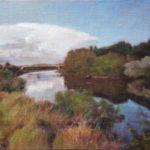 Kanal – Landscape Oil painting