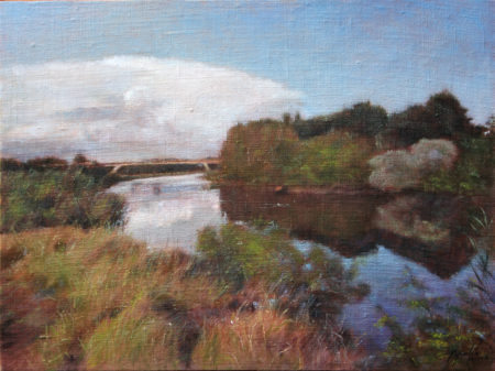 Fine Art - Kanal - Original Oil Painting on Canvas by artist Darko Topalski