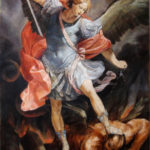 Archangel Michael 2018 – Figurative Religious Oil Painting