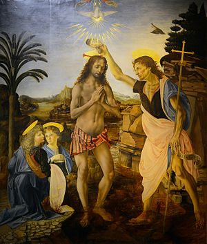 The Baptism of Christ (Verrocchio)