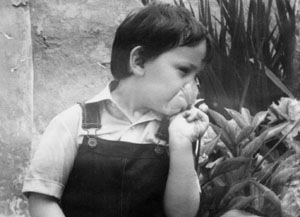 artist Darko Topalski as a kid