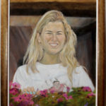Maja – Commissioned Portrait Oil painting