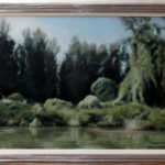 River Tisa – Commissioned Landscape Oil painting