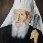 Serbian Patriarch Pavle –  Portrait Oil painting