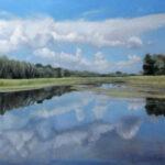 Zasavica – Landscape Oil Painting