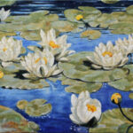 Waterlilies – Landscape Oil Painting