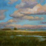 In the Plain – Landscape Oil Painting