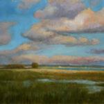 In the Plain – Landscape Oil Painting
