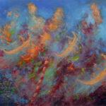 Gondoliers – Fantastic Landscape Oil Painting