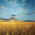 Wheat Fields – Landscape Oil Painting