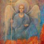 Precious Little Angel – Symbolic Fantastic Oil Painting