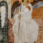White Angel – Commissioned Oil painting