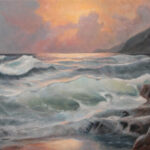 Before the Storm – Seascape Oil Painting